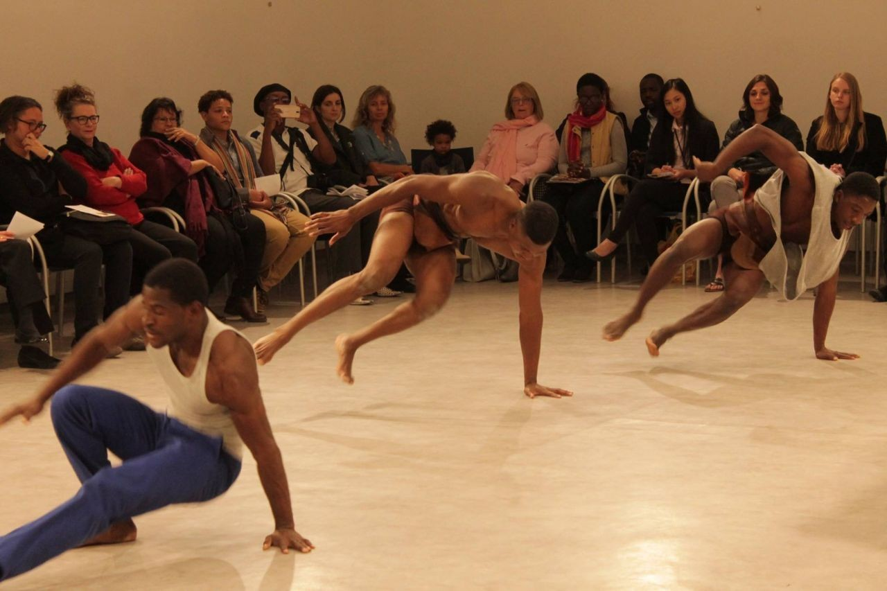 OYO Dance Troupe at the Goethe Institute